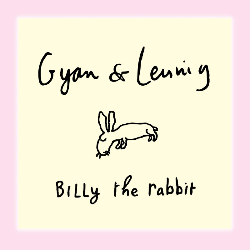 Image of the album cover of Billy the Rabbit, performed by Gyan & Leunig