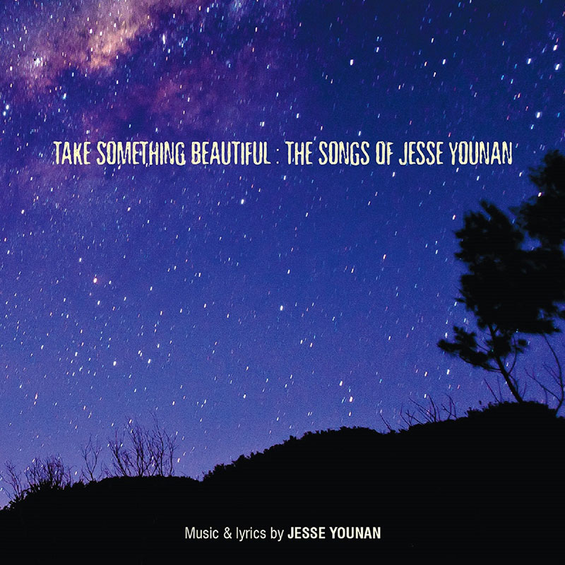Image of the album cover of Take Something Beautiful: The Songs of Jesse Younan