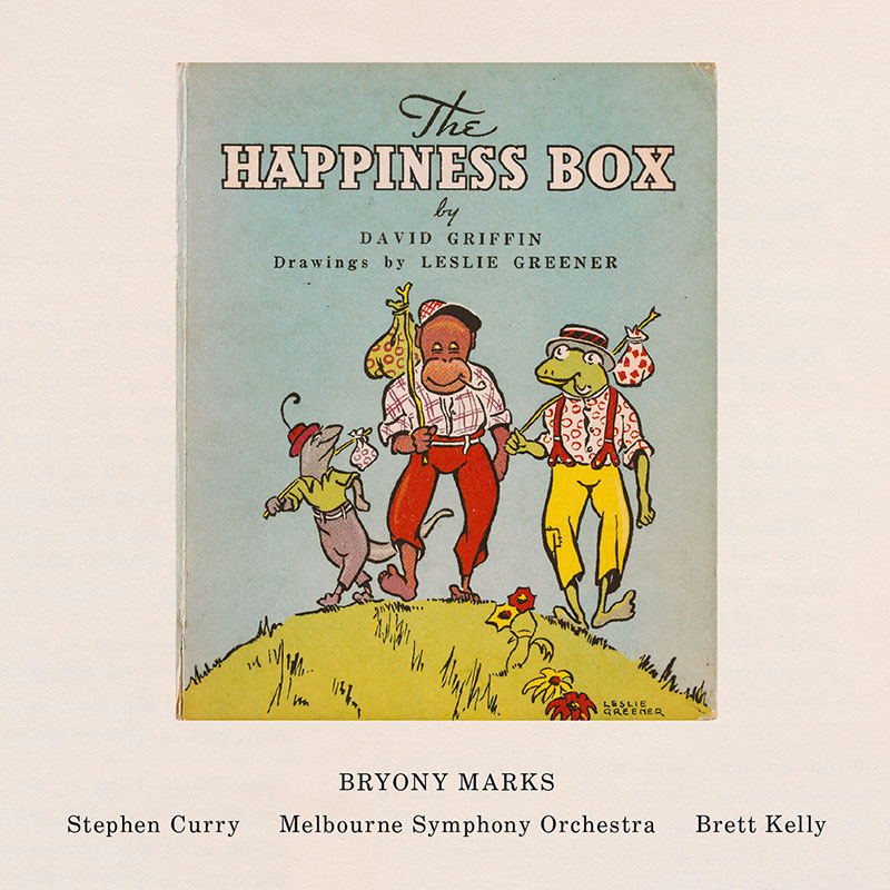 Image of the album cover of The Happiness Box